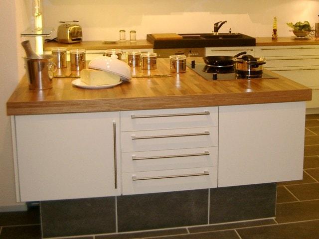 Küchentheke der Schreinerei bei Landshut