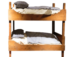 Stock-Kinderbett