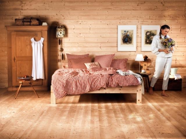 Schlafzimmer der Schreinerei bei Landshut