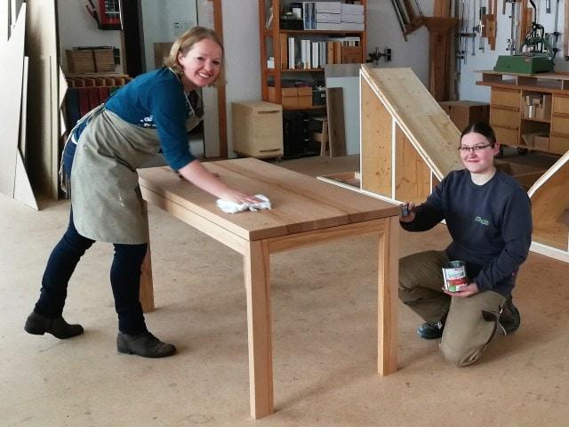 Pflege Holzmöbel Schreinerei
