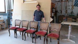 Massivholz Stühle