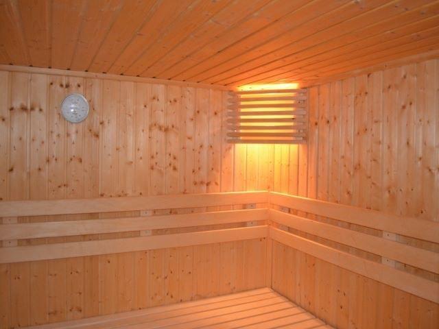 Zirbenholz Sauna