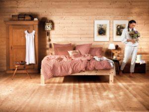 Zirbenholz Schlafzimmer